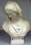 Heinrich Max Imhof: Marmorbüste von Mathilde Wesendonck, 1862