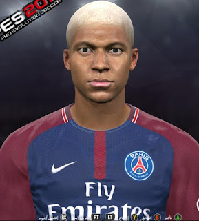 PES 2017 Faces Kylian Mbappe by Youssef Facemaker