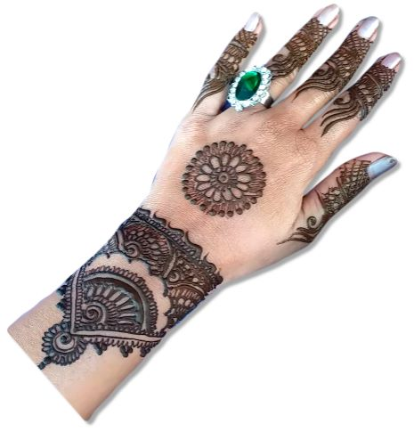 Full Hand Mehndi Designs