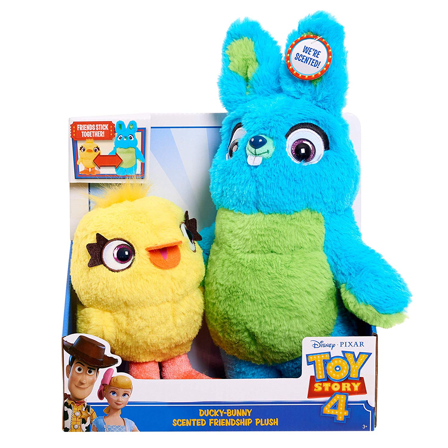 toy story 4 bunny and ducky toys