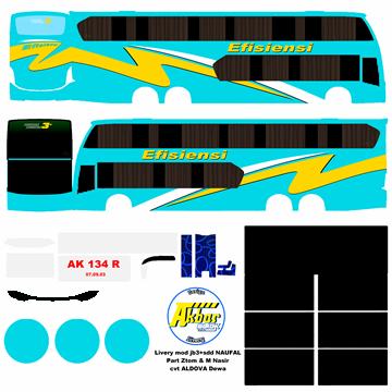 livery efisiensi jb3+sdd voyager bussid