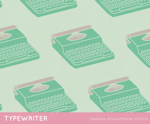 freebies papéis de parede objetos analógicos - máquina de escrever