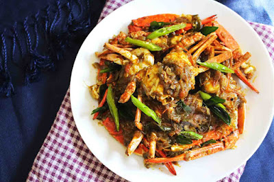 indian roasted crab ayeshas kitchen seafood recipes crab roast