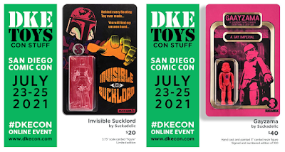 San Diego Comic-Con 2021 Exclusive Sucklord Resin Figures by Suckadelic x DKE Toys