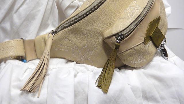 Сумка кошелек кожа, сумка для документов на пояс - натуральная кожа, на заказ