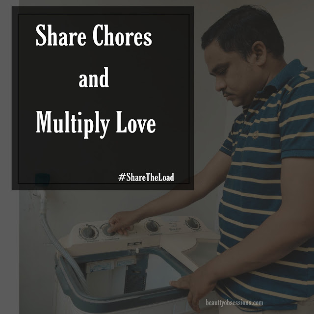Share Chores and Multiply Love ..