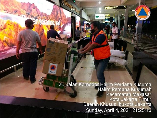 BNPB Kirimkan Bantuan Logistik untuk Bencana Banjir Bandang Flores Timur