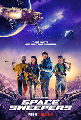 Space Sweepers ditonton di Netflix