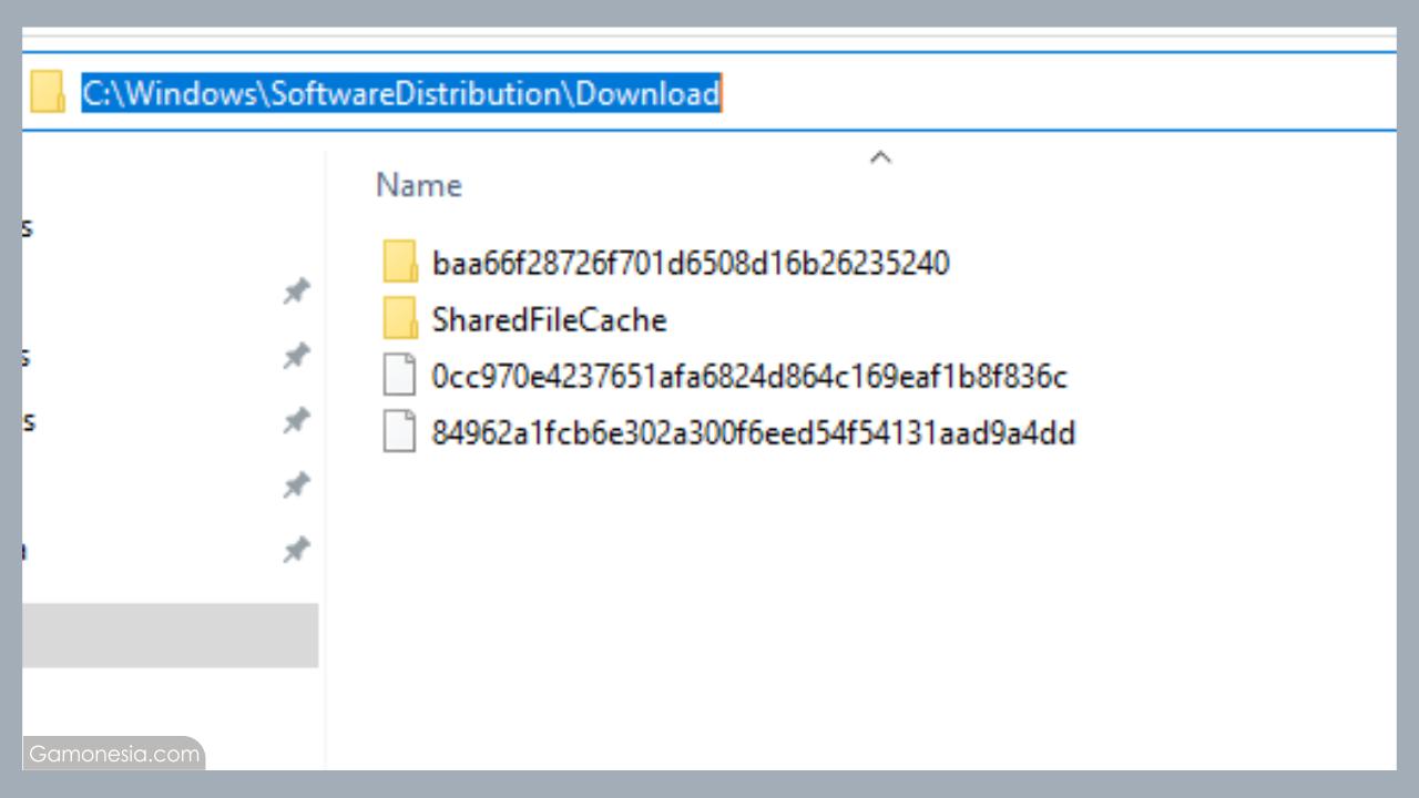 Cara membersihkan cache download