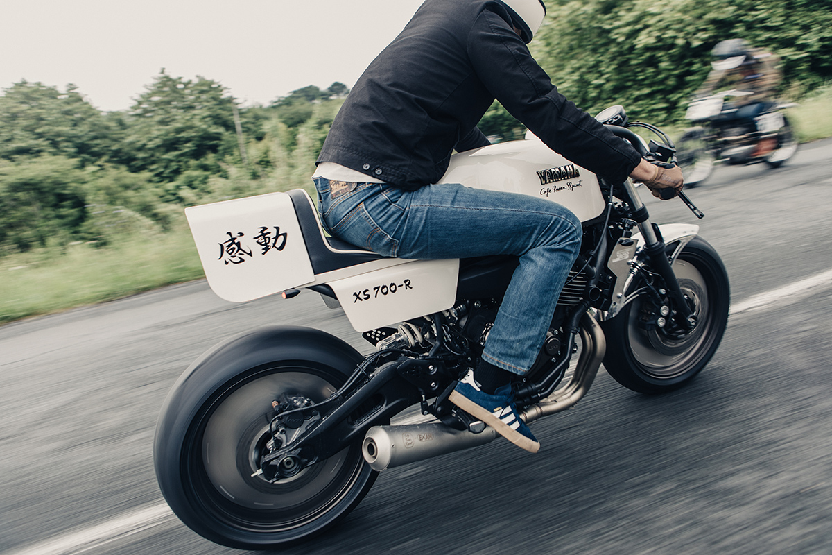 Caferacer Yamaha Xsr700 13