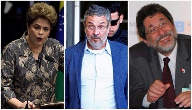 TCU bloqueia bens de Dilma, Palocci e Gabrielli por compra da refinaria de Pasadena