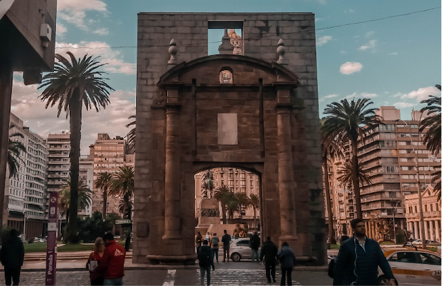 Puerta de la Cidadela em Montevideo