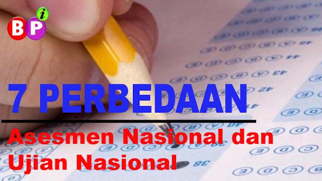 Inilah 7 Perbedaan Asesmen Nasional dan Ujian Nasional