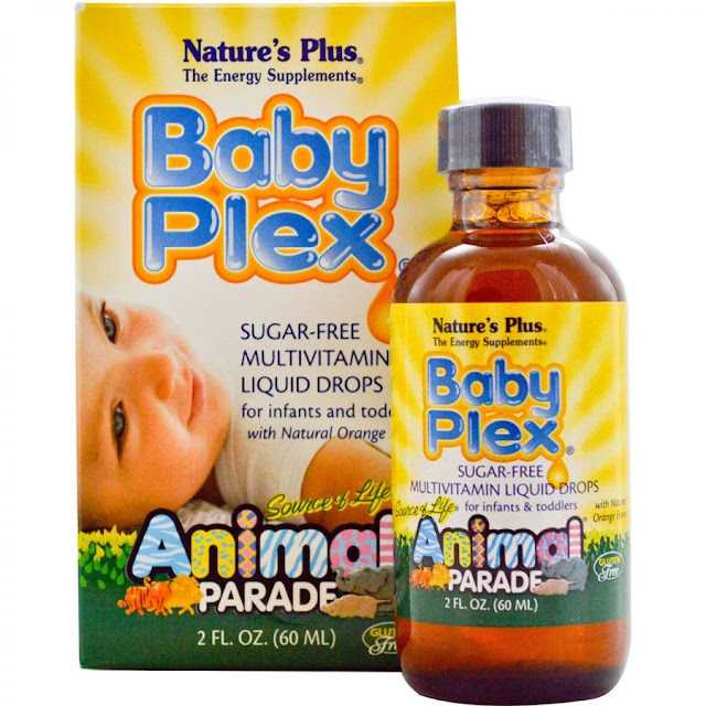 Vitamin cho bé Natures Plus Baby Plex Animal Parade 60ml của Mỹ (3)