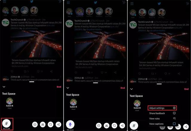 Cara Membuat, Bergabung, dan Menggunakan Twitter Spaces-2