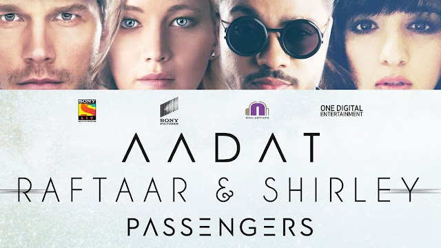 Aadat Lyrics Image