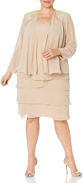 Beautiful Plus Size Mother of The Groom Dresses