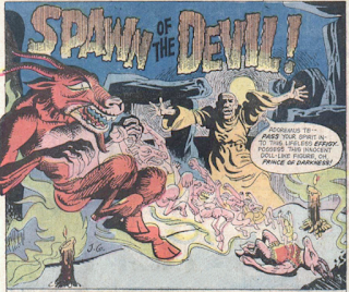 Atlas Comics, Tales of Evil #1, Spawn of the Devil