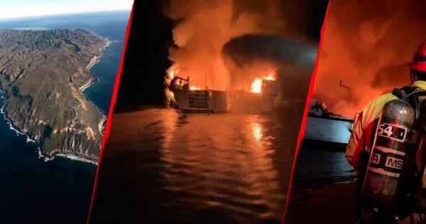 Καλιφόρνια: Πάνω από 34 άτομα κάηκαν ζωντανοί σε σκάφος στα ανοικτά της Σάντα Κρουζ