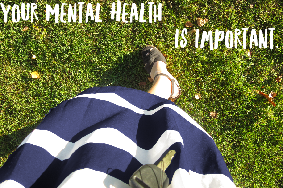 Your Mental Health is Important.