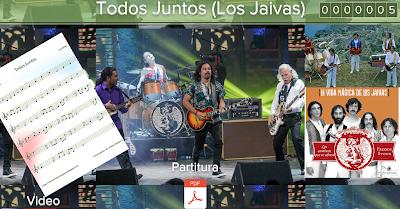 PARTITURA DE TODOS JUNTOS