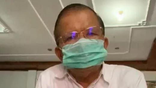 Pakai Kalung Antivirus, Bupati Padang Pariaman Tetap Positif Terinfeksi Corona