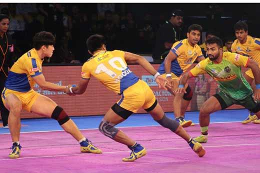 Patna Pirates beat Tamil Thalaivas