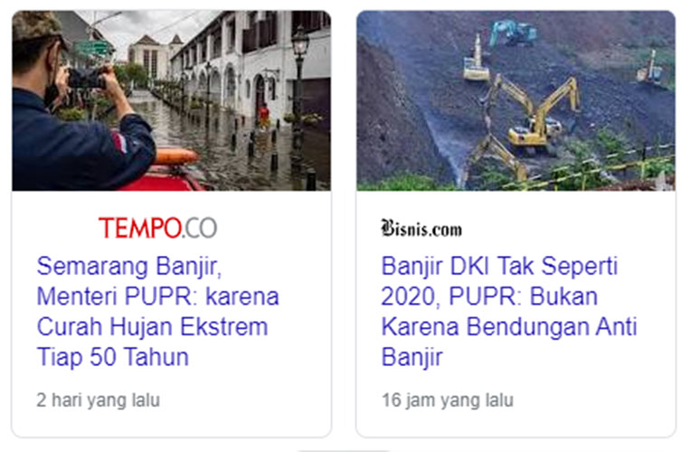 Banjir Semarang vs Banjir Jakarta