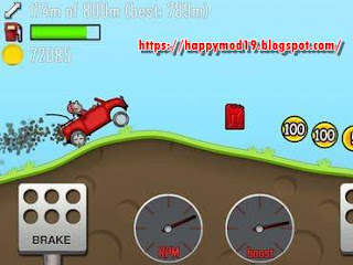 Screenshot 2 of Hill Climb Racing (MOD, Unlimited Money) 1.44.0 for android