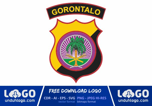 Logo Polda Gorontalo