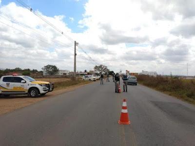 BPRv prende flagra 80 irregularidades por diversas situações no Sertão  de Alagoas