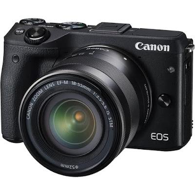Canon EOS M3 DSLR Firmware Latest Driverをダウンロード