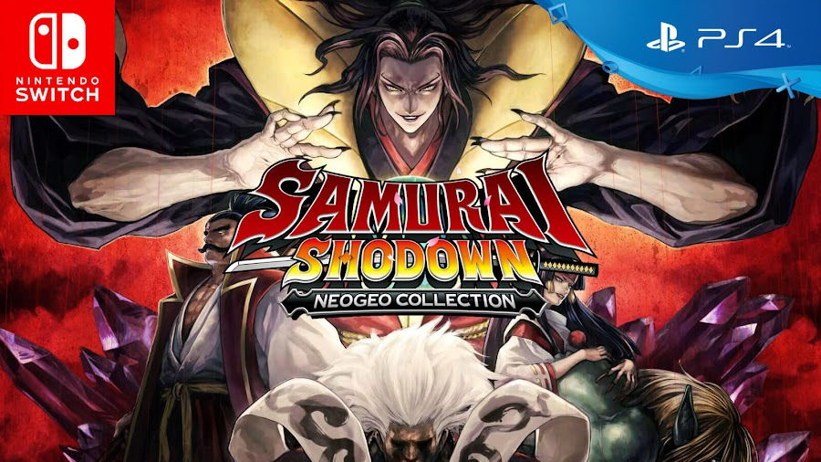samurai shodown neo geo collection ps4 nintendo switch classic weapon-based fighting game series digital eclipse snk