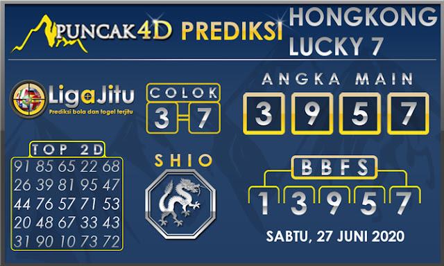 PREDIKSI TOGEL HONGKONG LUCKY 7 PUNCAK4D 27 JUNI 2020