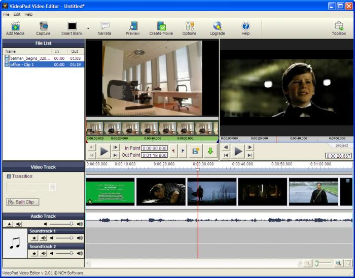 download videopad video editor professional