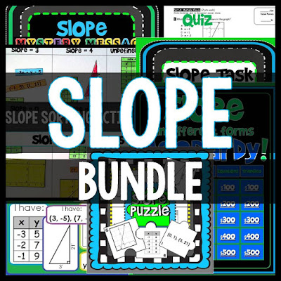 Slope Activities Bundle