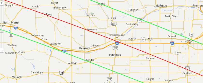 Eclipsechasers Pre Eclipse 2017 Road Trip I 80 Nebraska