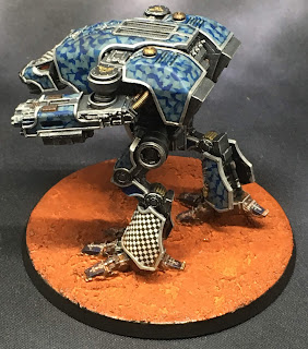 Legio Tempestus Warhound Titan for Adeptus Titanicus - Facta Belli