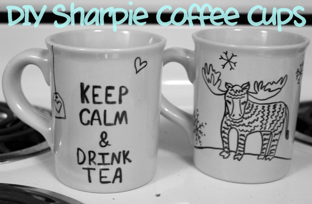 This Memorable Life: Guest Post: DIY Sharpie Coffee Cups ...