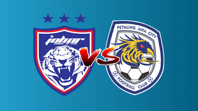 Live Streaming JDT vs PJ City FC Liga Super 10.7.2019