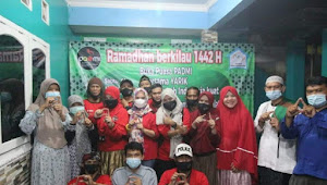 Ramadhan Berkilau 1442 H PADMI Jakarta Di Guyur Rezeki Hujan