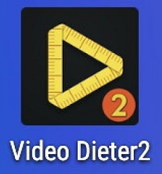 Aplikasi Compres Video Diater 2 pada Smartphone