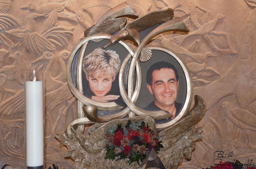 Diana und Dodi Memorial