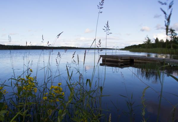 Rantasalmi uimaranta keskusta järvimaisema saimaa