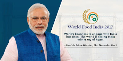 World Food India 2017 Inaugurated in New Delhi
