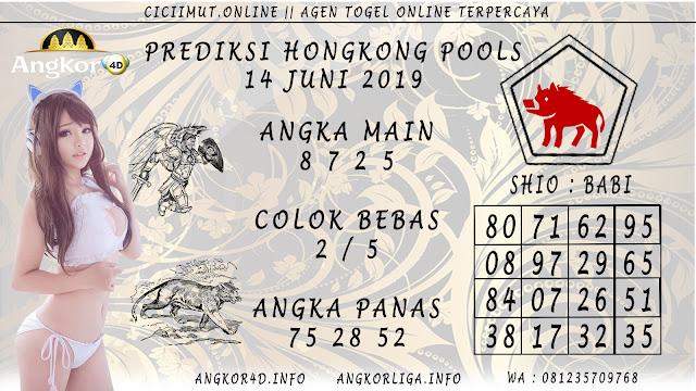 PREDIKSI HONGKONG POOLS 14 JUNI 2019