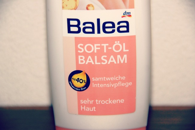 Balea Soft oil body lotion uljani losion za telo za suvu i veoma suvu kozu tela