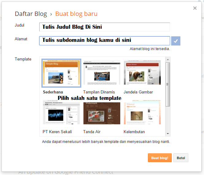 blogspot blog