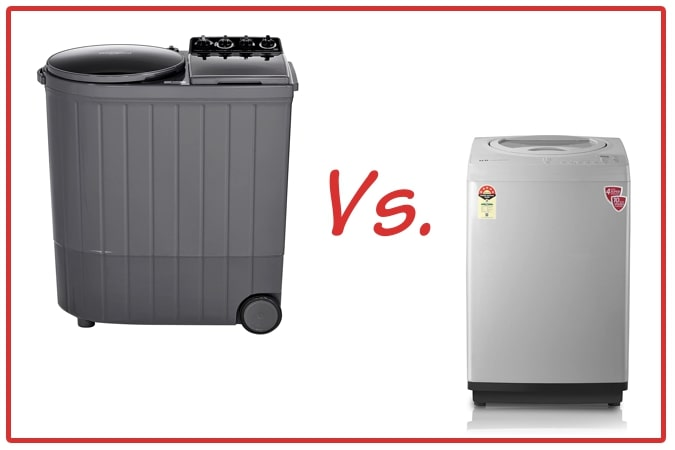 Whirlpool ACE XL (left) and IFB TL RSS Aqua (right) Washing Machine Comparison.