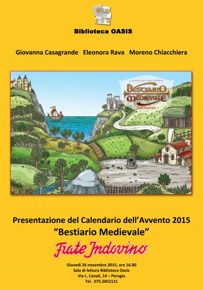 Calendario Di Frate Indovino 2020.Medioevo Weblog Il Bestiario Medievale Di Frate Indovino